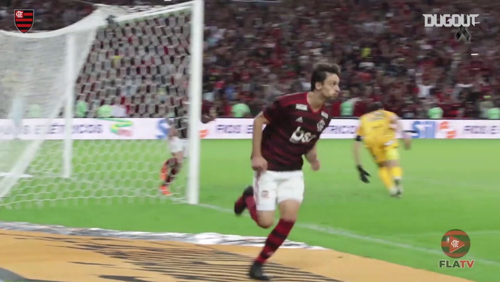 Rodrigo Caio marca, e Fla elimina Corinthians na Copa do Brasil