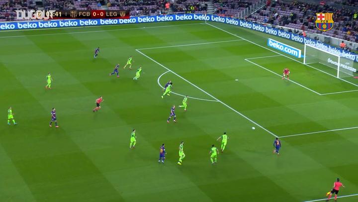 FC Barcelona beat Leganés 5-0 in Copa del Rey