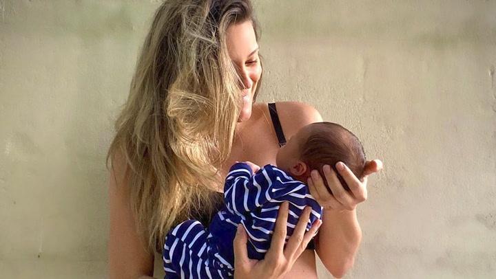 Lorena Gómez cuenta cómo ha vivido sus primeros días como madre