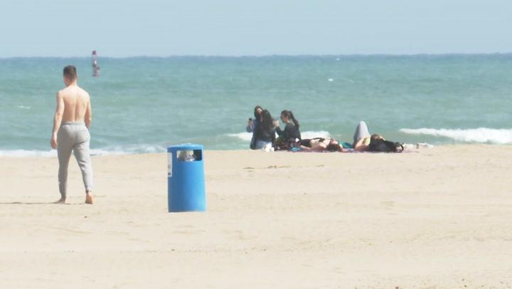 Hasta ahora se había establecido la mascarilla obligatoria en playas aunque haya distancia de seguridad