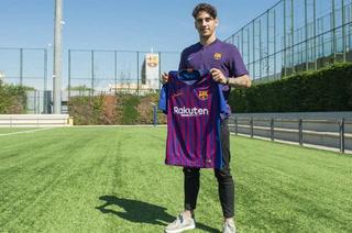 El Barcelona hace oficial el fichaje del joven holandés Ludovit Reis