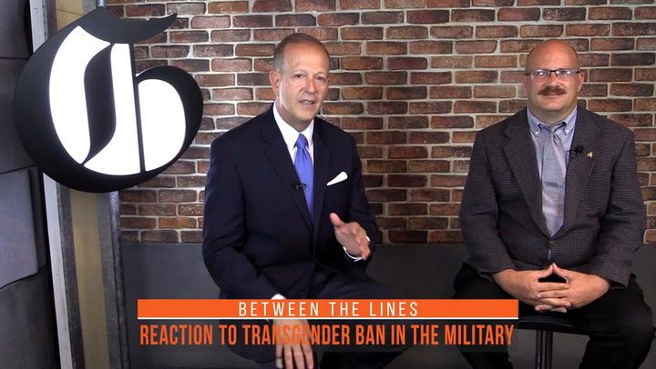 Between The Lines: Former Fort Carson Transgender Soldier Reacts To Transgender Ban-5522451368001
