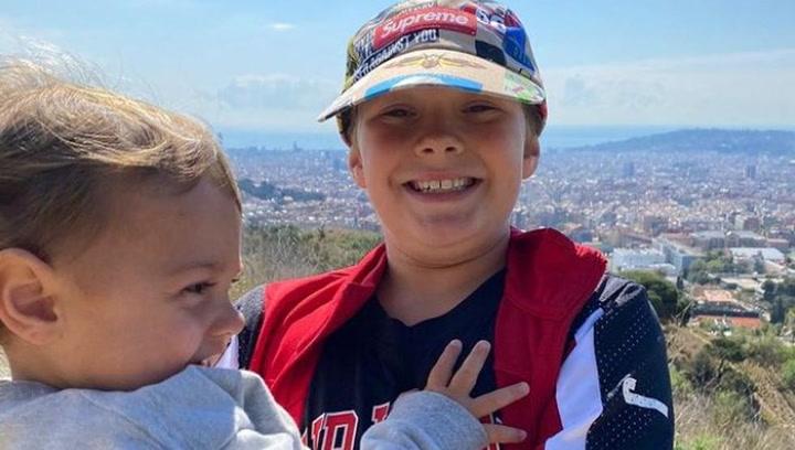 Neymar revoluciona las redes tras publicar una foto de su hijo en Barcelona