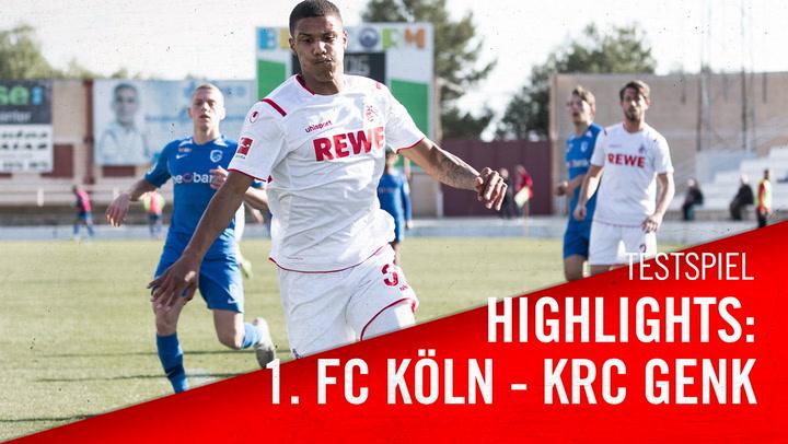 1. FC Köln - KRC Genk