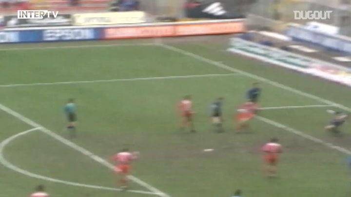 Recuerdos: El primer gol de Javier Zanetti con el Inter