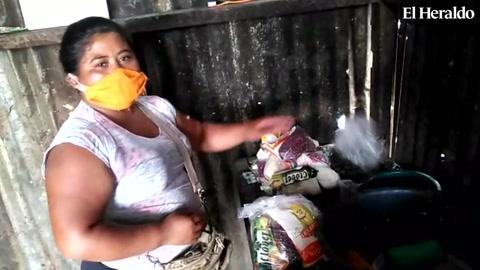 Sara Amador agradece a EL HERALDO por la ayuda a su familia