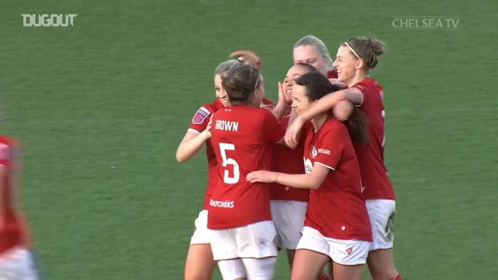 England double helps Chelsea Women thrash Bristol City