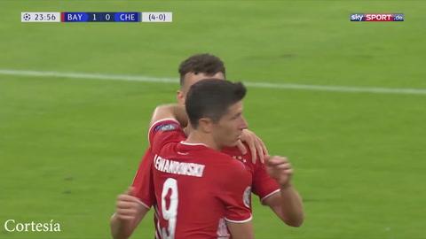 Bayern avanza a la siguiente ronda de la Champions tras vencer al Chelsea