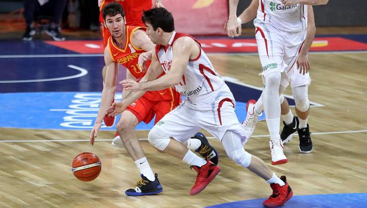 74-58: Brillante victoria de España sobre Turquía