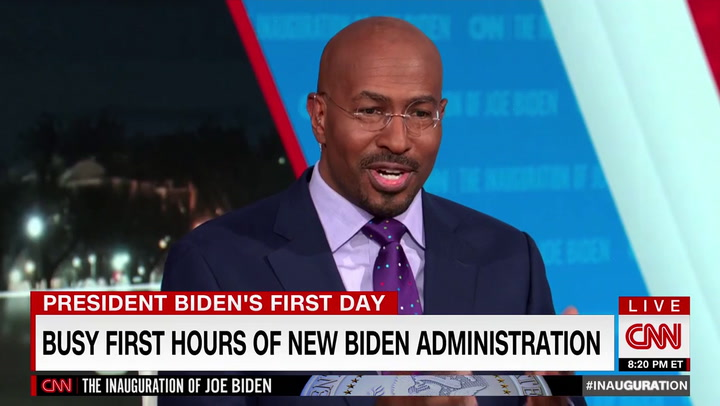 CNN's Van Jones: 'Mesmerizing' to Watch Functional Government -- I'm 'Crying,' Thank Jesus