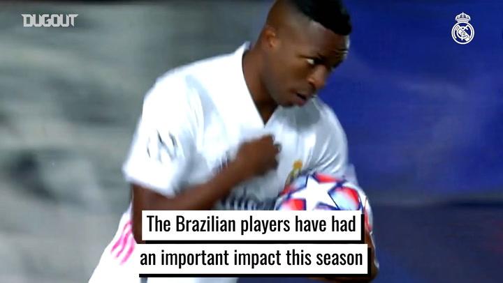 Real Madrid's Brazilians make big impact in 2020-21