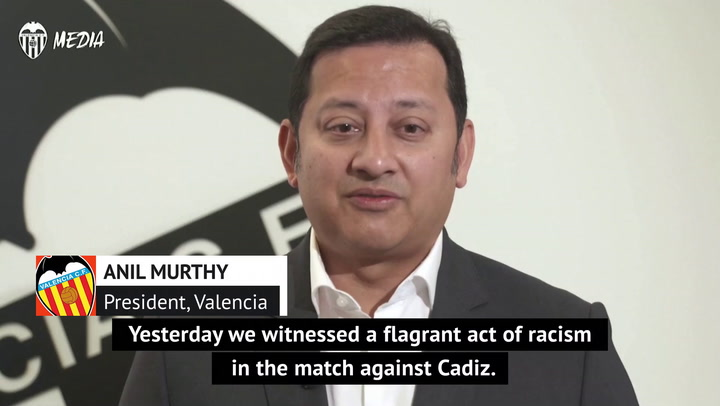 Valencia president supports Diakhaby in racism allegation