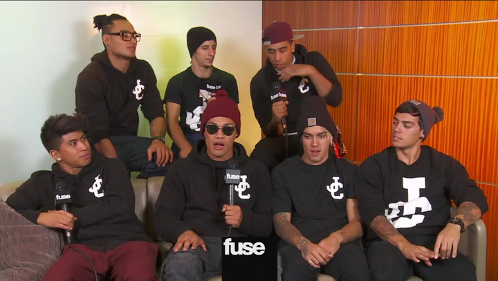 Interviews: Justice Crew on 1d