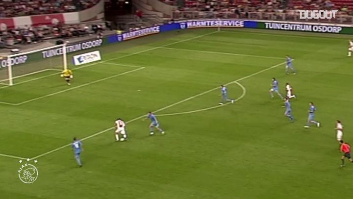 Los cinco mejores goles de Luis Suárez con el Ajax