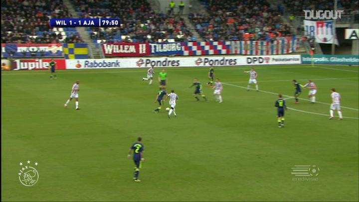 Jan Vertonghen's long-distance stunner vs Willem II