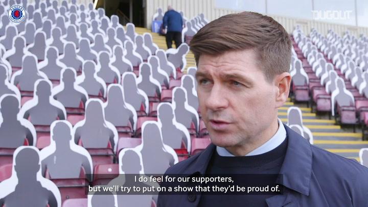 Steven Gerrard looks ahead to Galatasaray Europa League qualifier