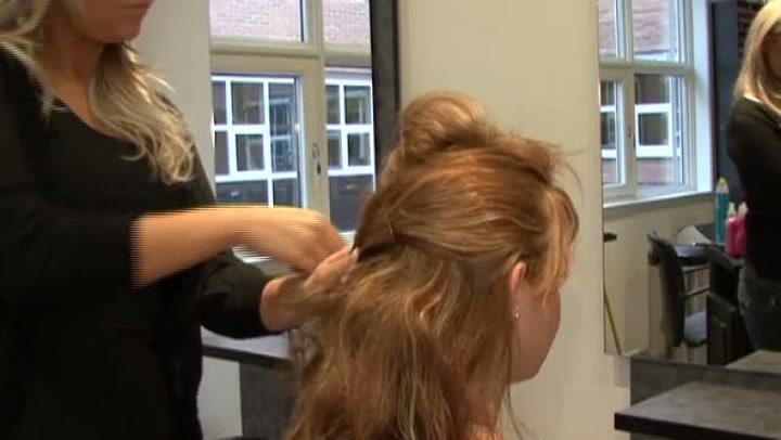 Hvordan sette opp håret enkelt