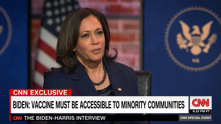 Harris: We'll Defer to Health Experts and Teachers' Unions on Elementary School Openings