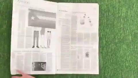 Provocativa publicación verde en de New York Times dedicada a Argentina