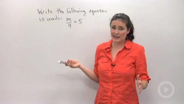Defining Variables - Problem 1