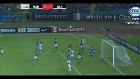 Santos se pone a ganar ante Marathón en el Olímpico de SPS