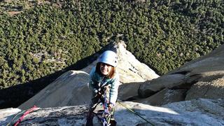 10-åringen henger 900 meter over bakken