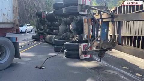 Se reporta accidente de tránsito en kilómetro 45 de la carretera CA-5