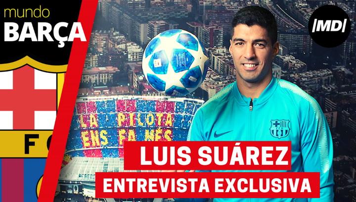 """Luis Suárez: """"Ganar Liga y Champions sería una alegría tras el virus"""""""