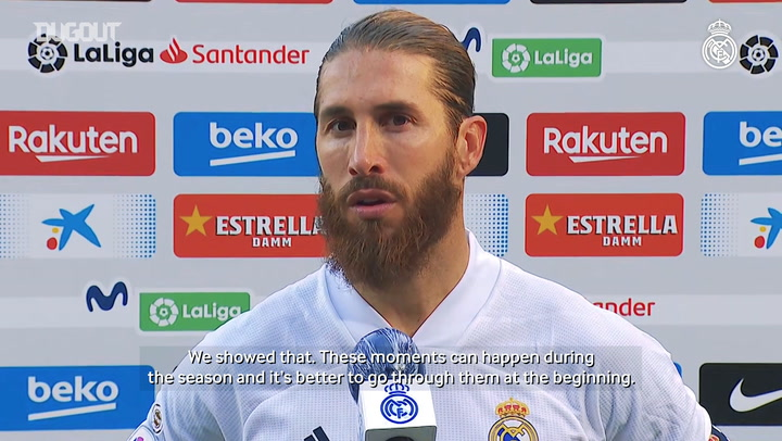 Ramos: 'This was the perfect opportunity to turn things around'