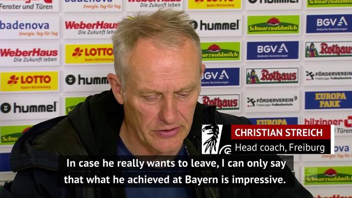 Freiburg boss Streich excited for 'exceptional' Flick's next challenge