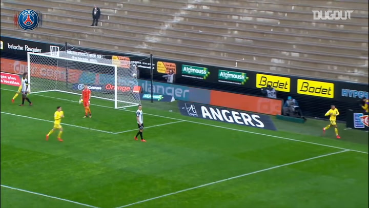 KYLIAN MBAPPÉ'S BEST GOALS VS ANGERS