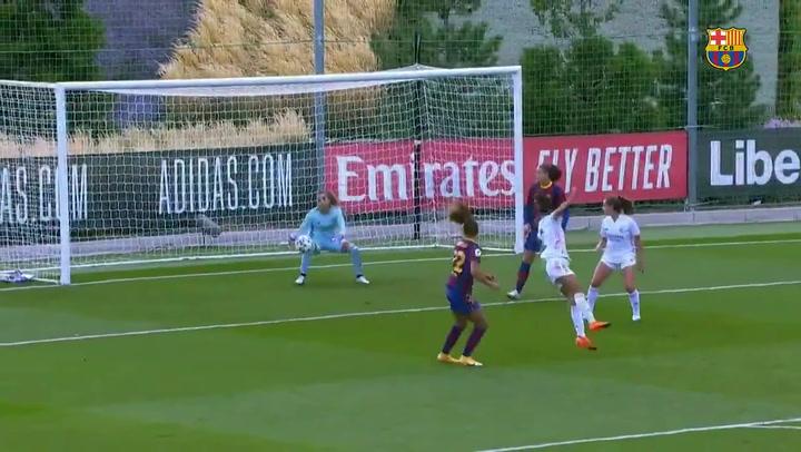 Rodillo del Barça ante el Madrid en el Clásico con un 0-4 muy corto