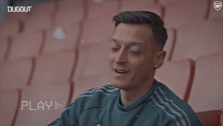 Mesut Özil picks his greatest player of all time