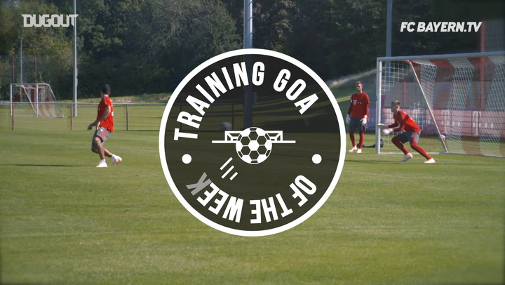 FC Bayern's Training Goals Of The Week #11