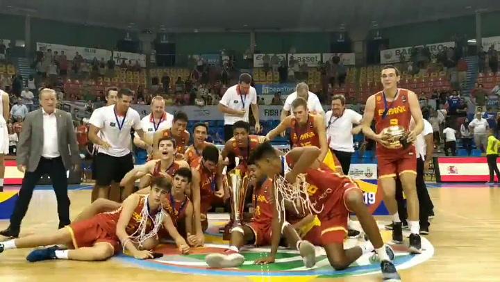 La Selección Española de Baloncesto, campeona de Europa Sub16