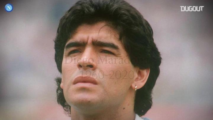 Napoli'nin Unutulmaz Efsanesi Diego Maradona