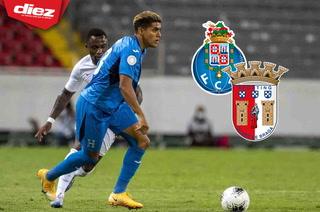 Agentes del Sporting Braga y FC Oporto llegarán a Honduras para observar al futbolista del Vida Luis Palma