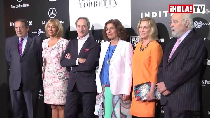 Ana Botella, fiel a Roberto Torretta: \'Ya he fichado algún diseño\'