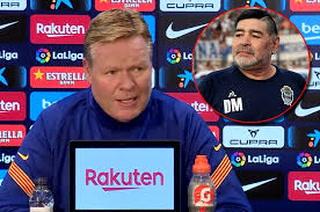 Koeman confiesa por qué decidió rebajarse el sueldo en el Barcelona y habla de Maradona
