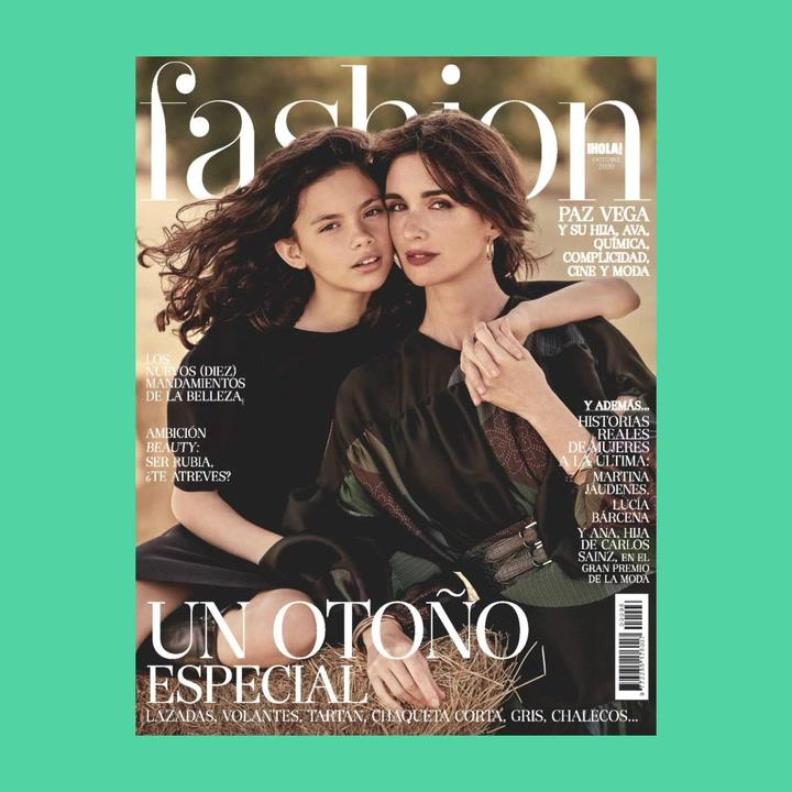 Paz Vega y su hija Ava Salazar, dos generaciones de un gran talento, en FASHION octubre