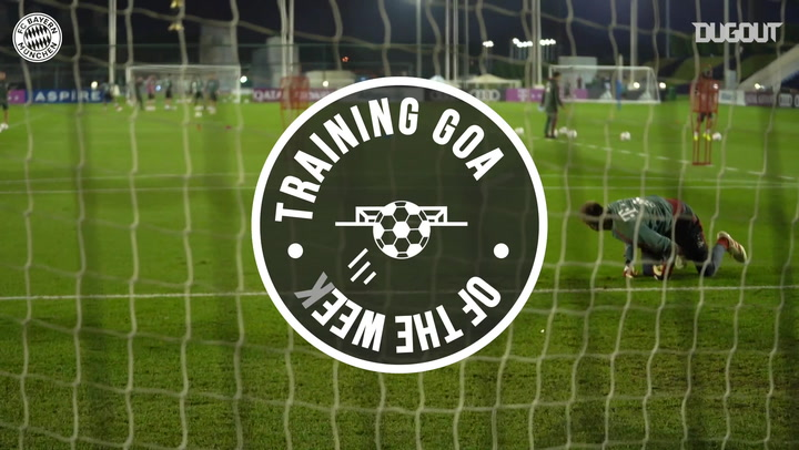 FC Bayern's Training Goals Of The Week #15