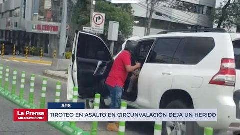 Honduras: Tiroteo en asalto en circunvalación deja un herido