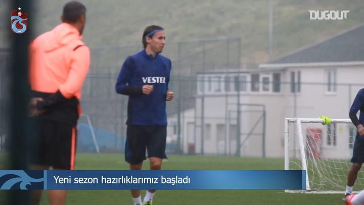 Trabzonspor'da Hazırlıklar Başladı!
