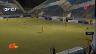 Martinez abre el marcador 1-0 ante Parrillas One