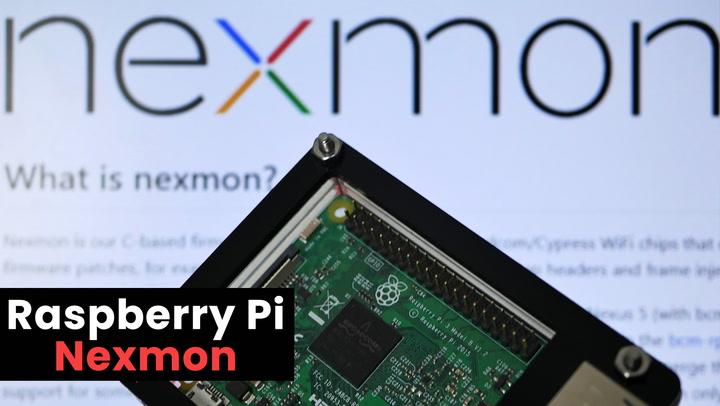 Raspberry Pi Nexmon