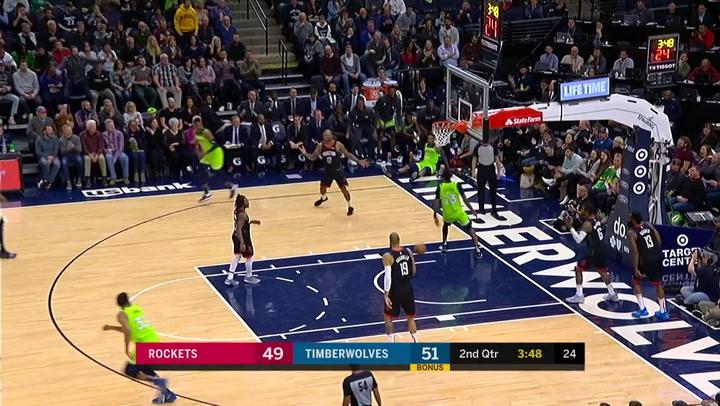 Las 10 mejores jugadas de la jornada de la NBA el 17 de noviembre de 2019