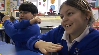Hand Gestures: Movements Make Math Memorable