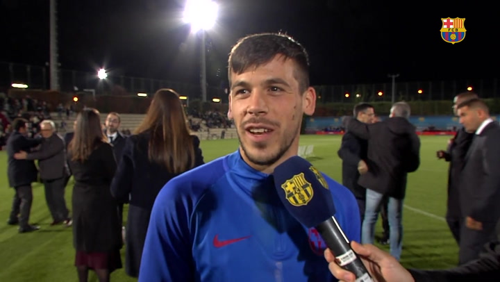 Ansu Fati y Carles Pérez, protagonistas en la presentación del fútbol formativo