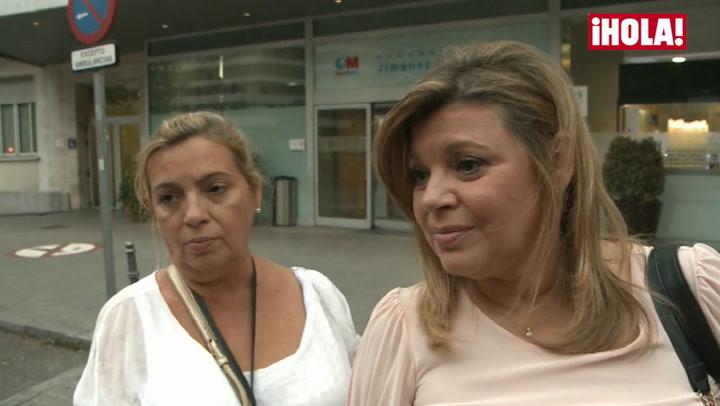 Las hijas de María Teresa Campos preocupadas por el ingreso de su madre