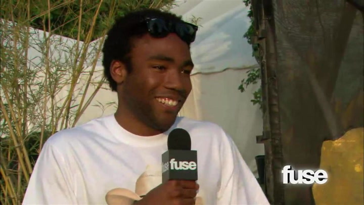 Donald Glover at Bonnaroo